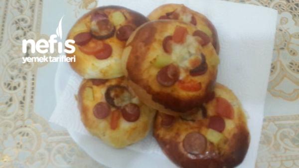 Yumuşacık Pizza Poğaça