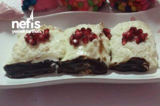 Çikolata Soslu Afyon Lokumu Tarifi