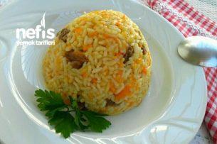 Etli ve Havuçlu Pirinç Pilavı Tarifi