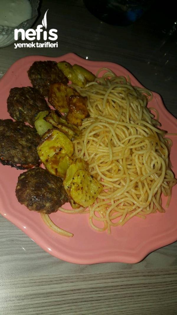Nefis Köfte Patates (fırında Yağsız)