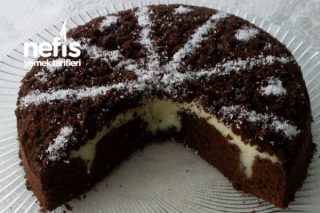 Pudingi Gizli Portakal Aromalı Browni Kek Tarifi