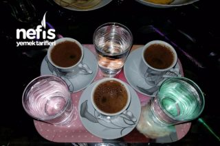 Türk Kahvesi Şekerli Tarifi
