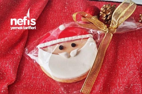 Yılbaşına Özel Noel Baba Kurabiye Tarifi