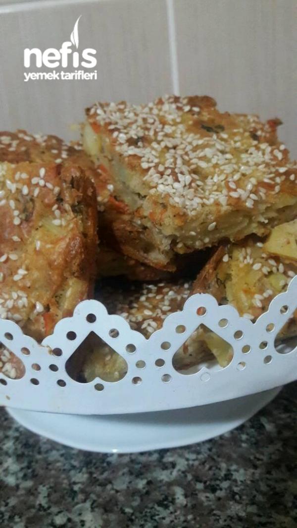 Patatesli Avuçlu Kek