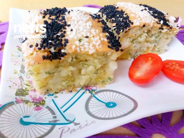 Poğaça Börek Tadında Şipşak Tuzlu Pamuk Kek