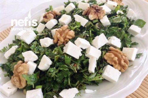 Nefis Yeşil Kahvaltı Salatası Tarifi