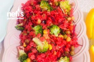 Pancarlı Makarna Salatası Tarifi