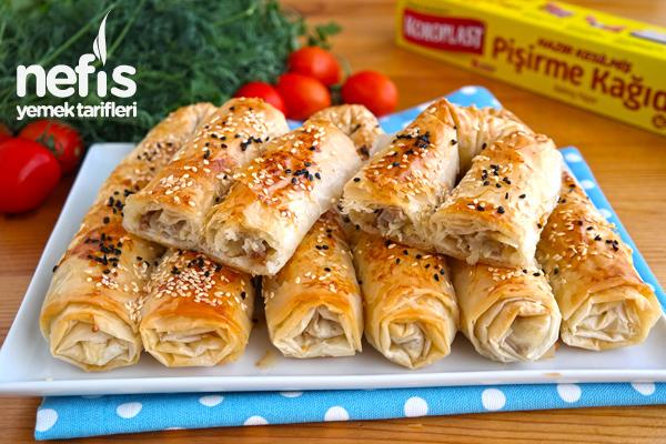 Yedikçe Yedirten Pastane Böreği (videolu) Tarifi