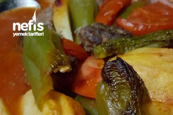 Fırında Köfte ve Patates Tarifi