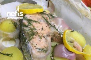 Fırında Somon Balığı Tarifi