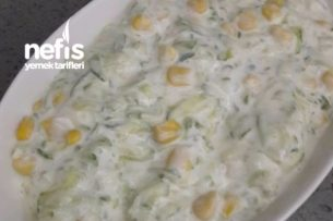 Yoğurtlu Salatalık Tarifi
