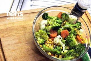 İkea'nın Buharda Renkli Salatası Tarifi