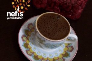 Köpüklü Türk Kahvesi Yapımı Tarifi