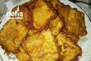 Nefis Bir Lezzet Hamurlu Patlıcan Kızartması Tarifi