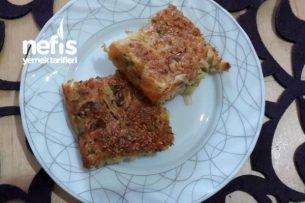 Sebzeli Yufkasız Börek Tadında Kek Tarifi