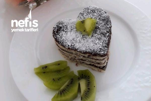 Yalancı Bisküvili Pasta Tarifi