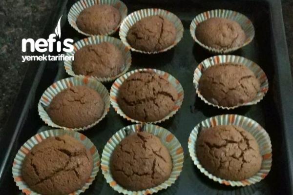 3 Malzeme İle Muffin