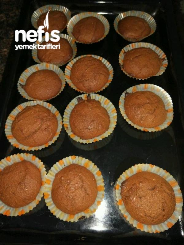 3malzeme İle Muffin