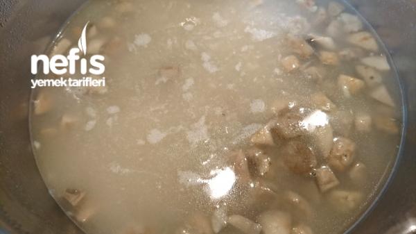Kremalı Sarımsaklı Dereotlu Nefis Mantar Çorbası