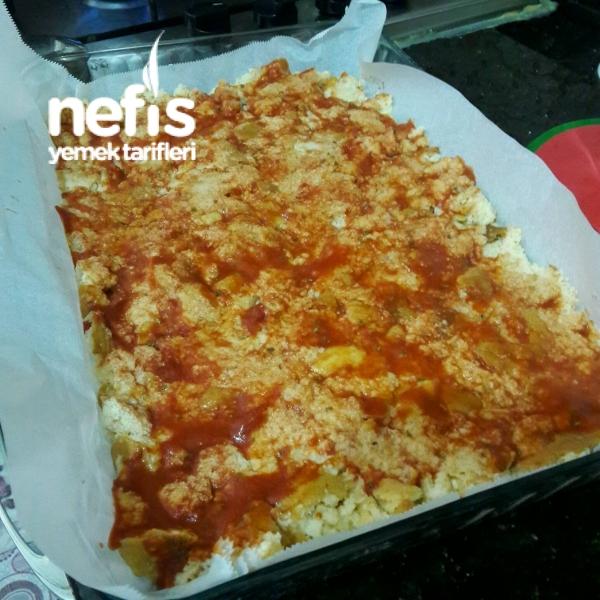 Muhteşem Bayat Ekmek Pizzası (Çok Pratik)