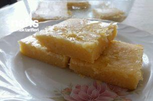Limonlu Browni (Lokum Gibi) Tarifi