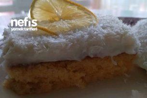 Limonlu Yağsız Gelin Pastası Tarifi