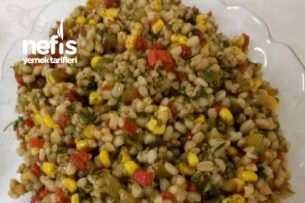 Buğdaylı Bol Faydalı Salata Tarifi