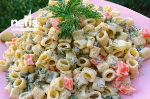 Nefis Makarna Salatası Tarifi