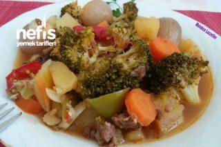 Bol Sebzeli Nefis Brokoli Yemeği (Tam Tadında) Tarifi
