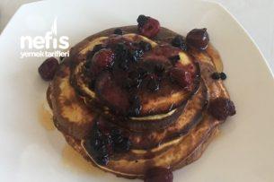 Diyet Pancake 4 Malzemeden Tarifi