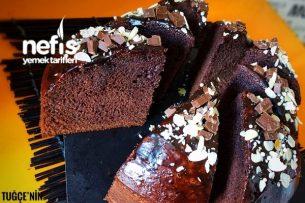 Müthiş Çikolata Soslu Kakaolu Kek Tarifi