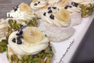 Porsiyonluk Yaş Pasta (Pastacı Kremalı) Tarifi