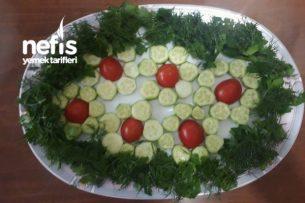 Çiçek Tabağı ( Kahvaltı Sunum) Tarifi