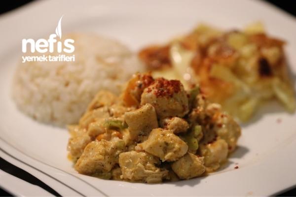 Kremalı Tavuk Sote