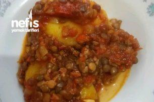 Yeşil Mercimekli Patates Tarifi