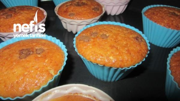 Portakalı Damla Çikolatası Muffin