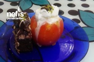 Dondurma Dolgulu Hurma Tatlısı Tarifi
