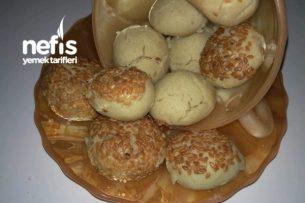 Tahinli Lokmalık Kurabiye (Pastane Tarifi)