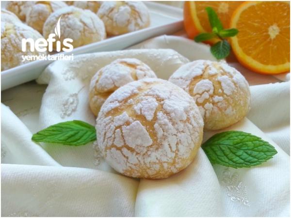 Mis Kokulu Portakallı Çatlak Kurabiye(çok Hafif)