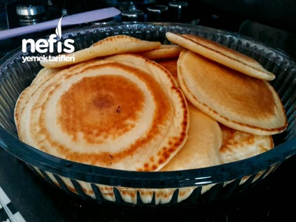 Tuzlu Pankek (Kahvaltı için ideal)