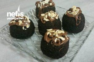 Duble Çikolatalı Fincan Kek Tarifi