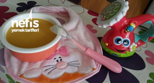 5 Ve 6 Aylık Bebekler İçin Sebze Çorbası