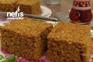 Pekmezli Tahinli Çaylı Kek Tarifi