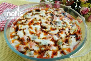 Sebzeli Erişte Salatası Tarifi