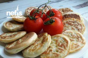 Sebzeli Pankek (Kahvaltıya) Tarifi