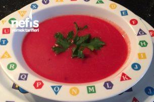 Çocukların Severek İçtiği Vitamin Deposu Pembiş Çorbam (Fotoğraflı Anlatım) Tarifi
