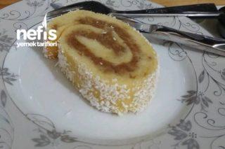 Elmalı Rulo Pasta Tarifi