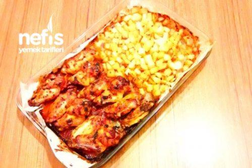 Basit ve kolay: Fırında ananaslı bir tavuk
