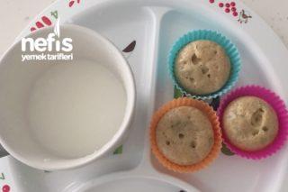 Bebişlere Kahvaltılık Muffin Tarifi