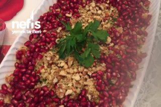 Narlı,Cevizli,Turşulu Nefis Bulgur Salatası Tarifi